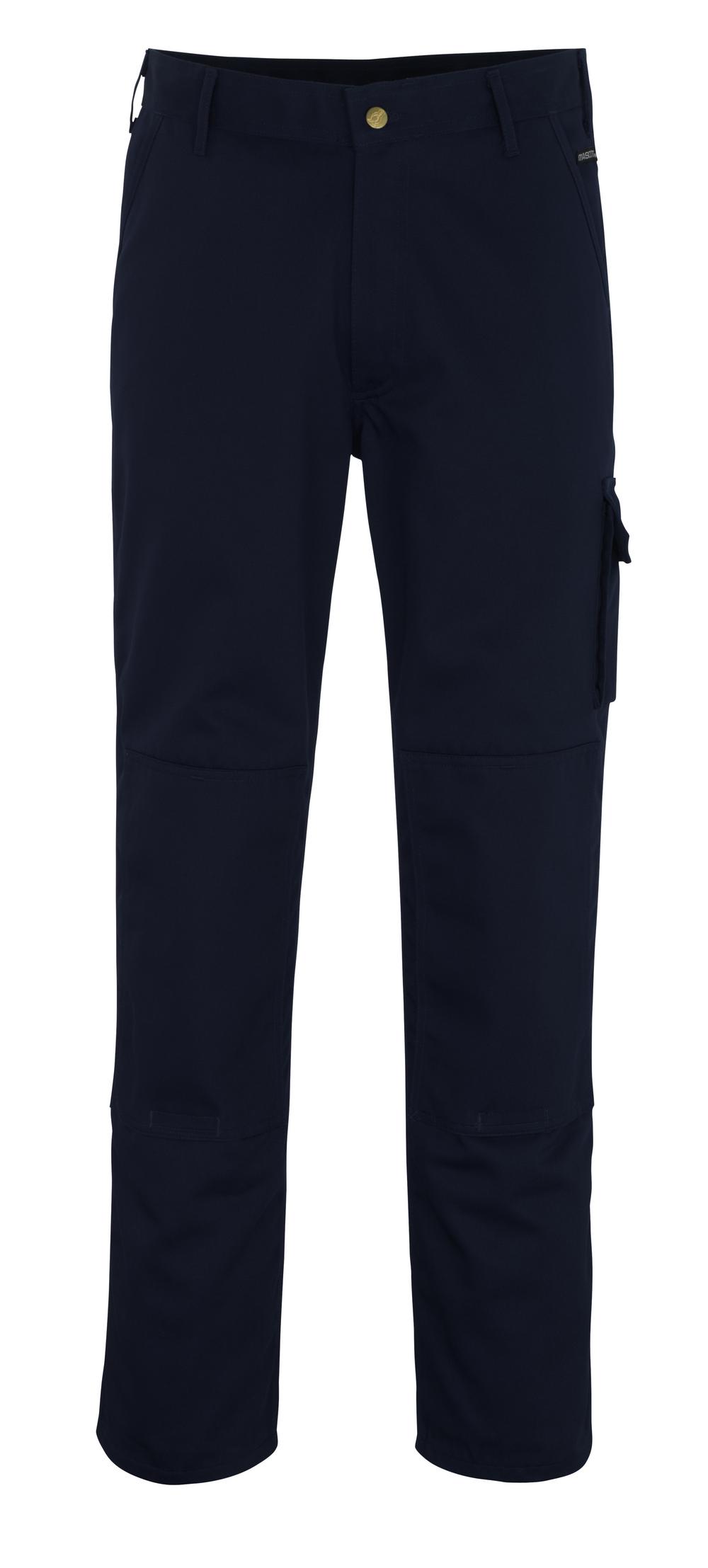 00279-430-01 Pants with kneepad pockets - navy