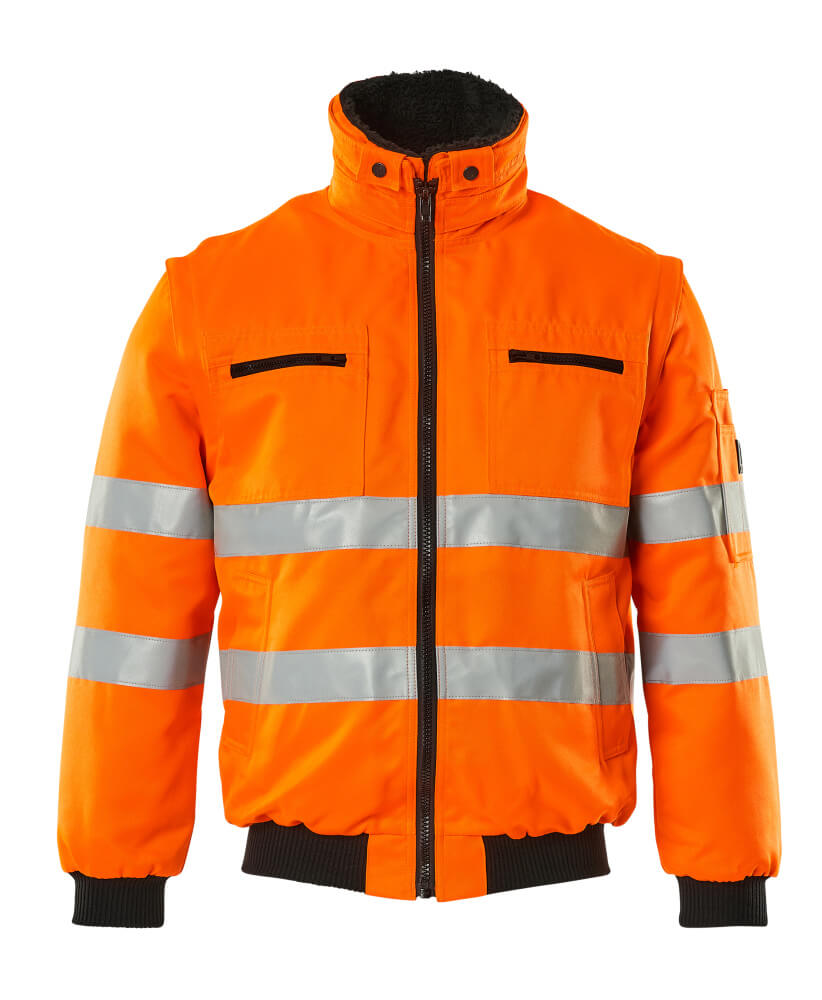 00520-660-14 Pilot Jacket - hi-vis orange