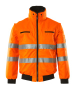00535-880-14 Pilot Jacket - hi-vis orange