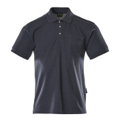 00783-260-01 Polo Shirt with chest pocket - navy