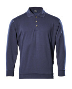 00785-280-01 Polo Sweatshirt - navy