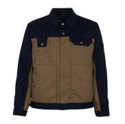 00909-430-51 Jacket - khaki/navy