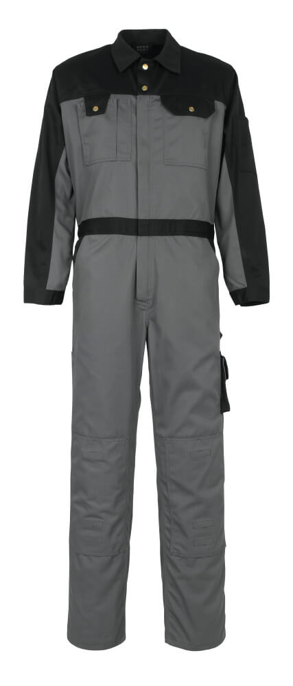 00919-430-8889 Boilersuit with kneepad pockets - anthracite/black