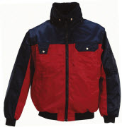 00920-620-21 Pilot Jacket - red/navy