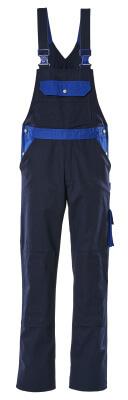 00962-630-111 Bib & Brace with kneepad pockets - navy/royal