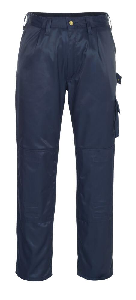 00979-620-01 Pants with kneepad pockets - navy