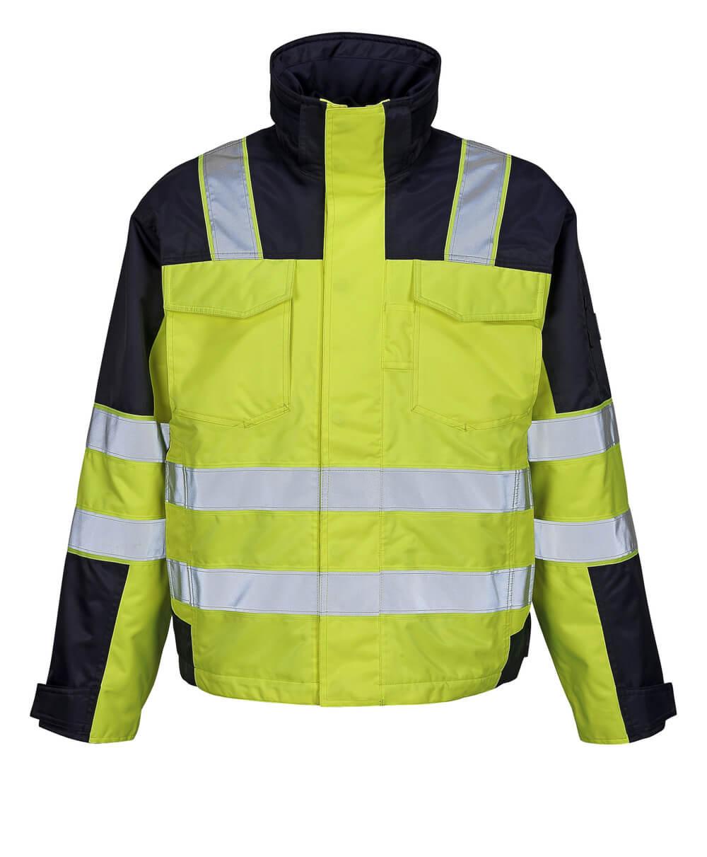 05023-880-171 Winter Jacket - hi-vis yellow/navy