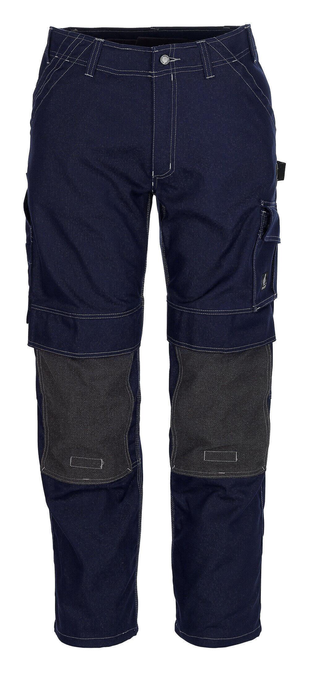 05079-010-01 Pants with kneepad pockets - navy