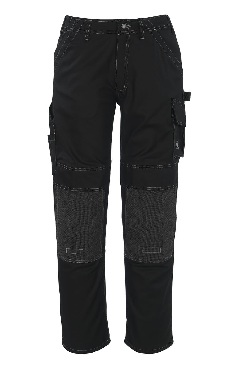 05079-010-09 Pants with kneepad pockets - black
