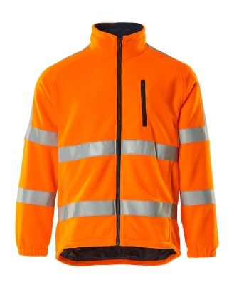 05242-125-14 Fleece Jacket - hi-vis orange
