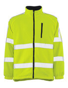 05242-125-17 Fleece Jacket - hi-vis yellow