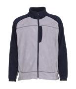 06042-137-881 Fleece Jacket - light grey/navy