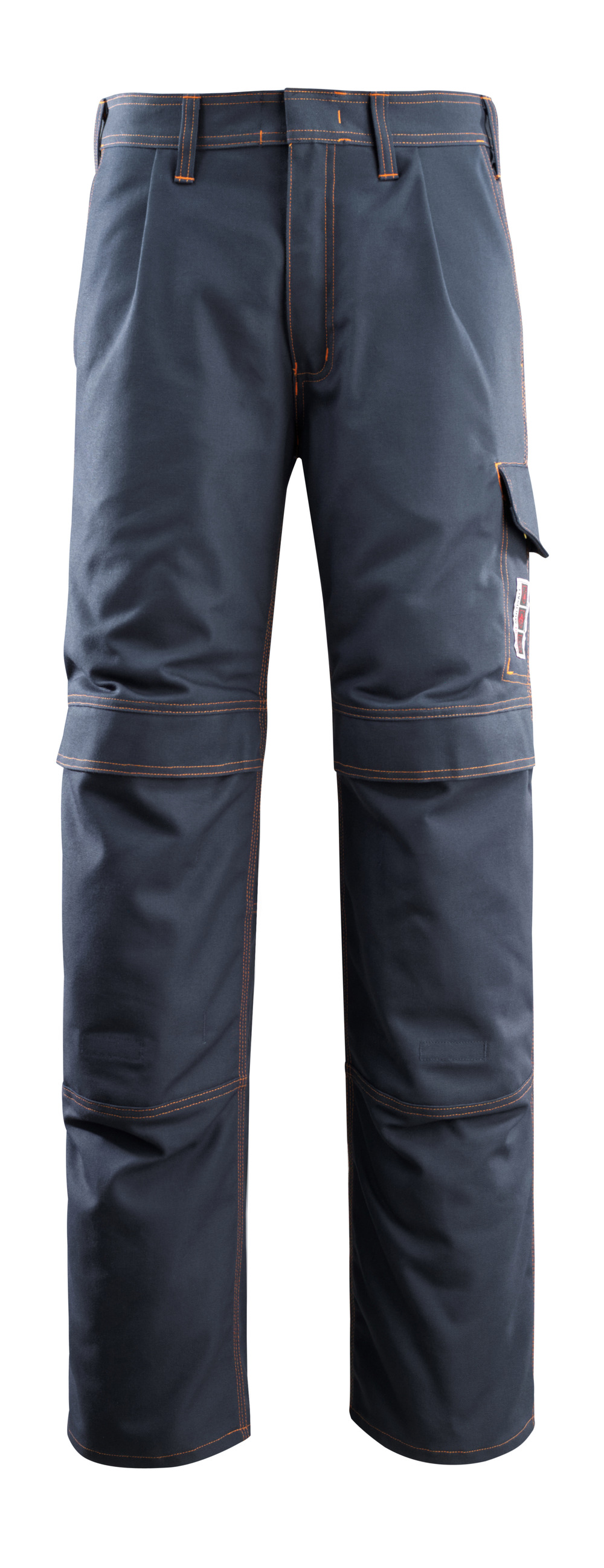 06679-135-010 Pants with kneepad pockets - dark navy