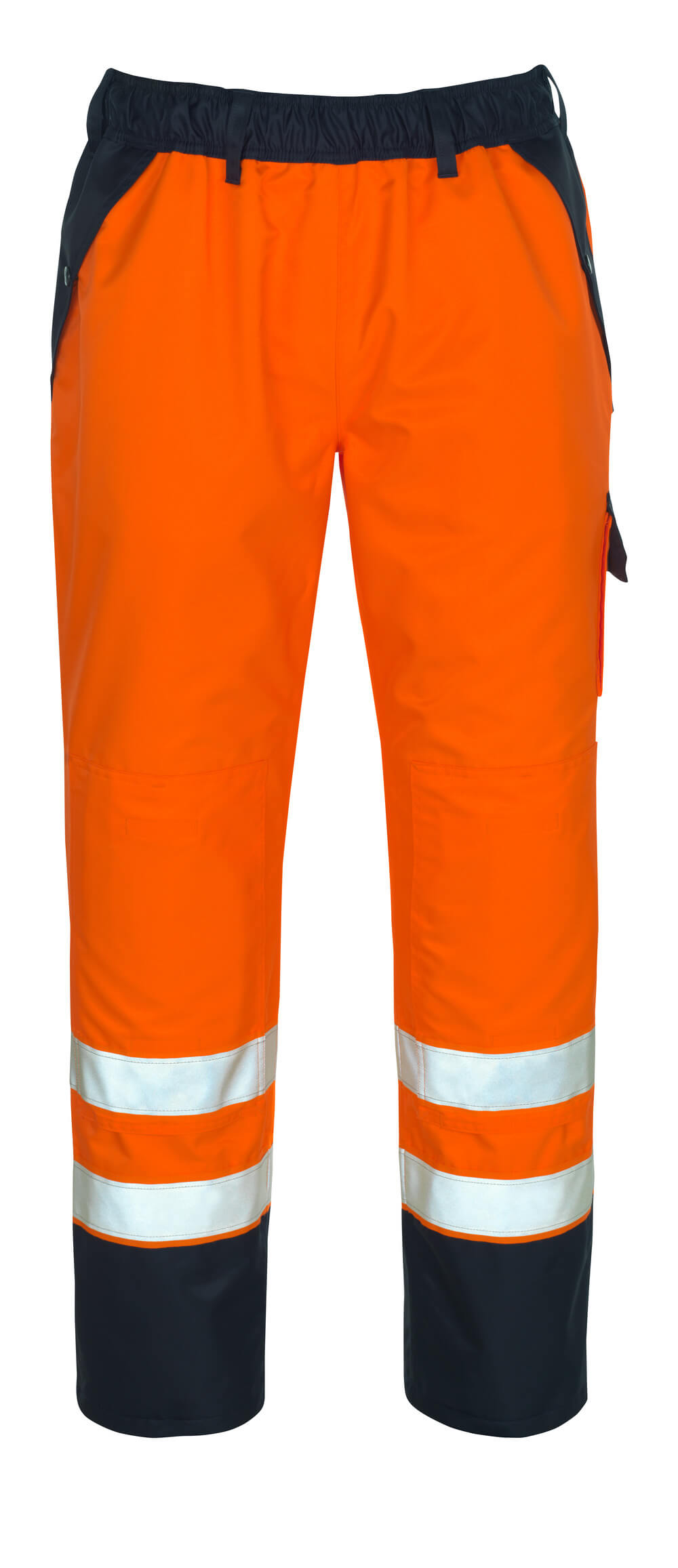 07090-880-141 Over Pants - hi-vis orange/navy