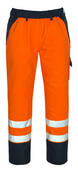 07090-880-141 Over Pants - hi-vis orange/navy