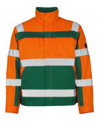 07109-860-1403 Jacket - hi-vis orange/green