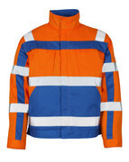 07109-860-1411 Jacket - hi-vis orange/royal