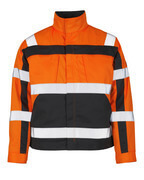 07109-860-14888 Jacket - hi-vis orange/anthracite