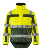 07223-880-1703 Winter Jacket - hi-vis yellow/green