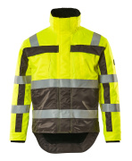 07223-880-17888 Winter Jacket - hi-vis yellow/anthracite