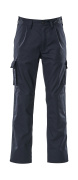 07479-330-01 Pants with kneepad pockets - navy