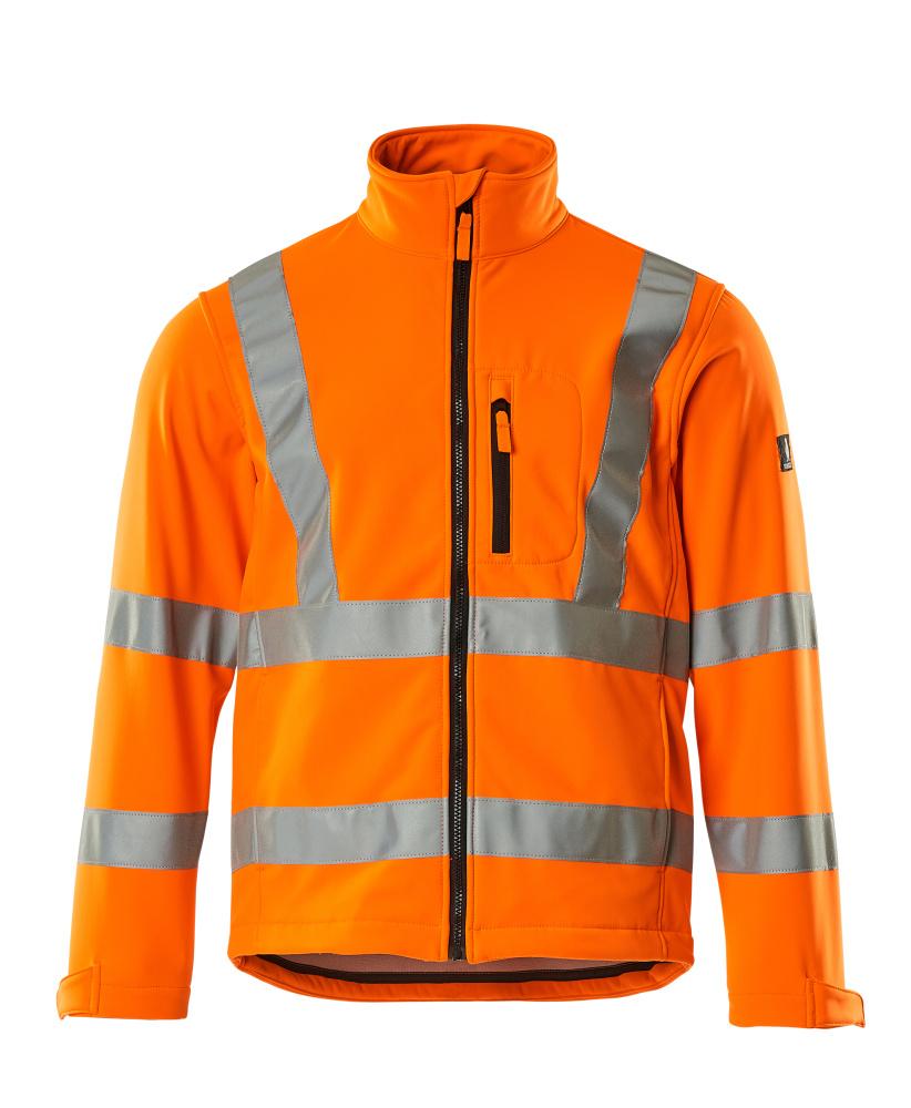 08005-159-14 Softshell Jacket - hi-vis orange