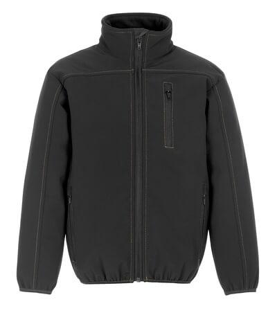 08126-149-09 Softshell Jacket for children - black