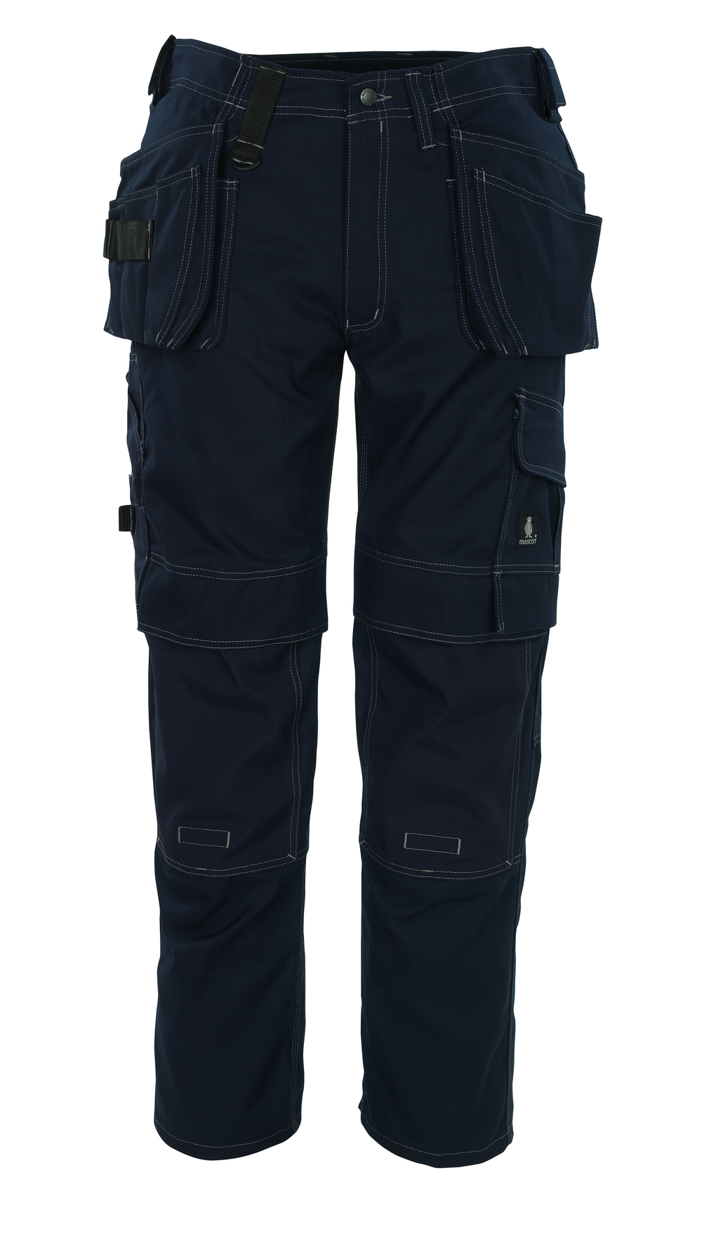 08131-010-01 Pants with kneepad pockets and holster pockets - navy
