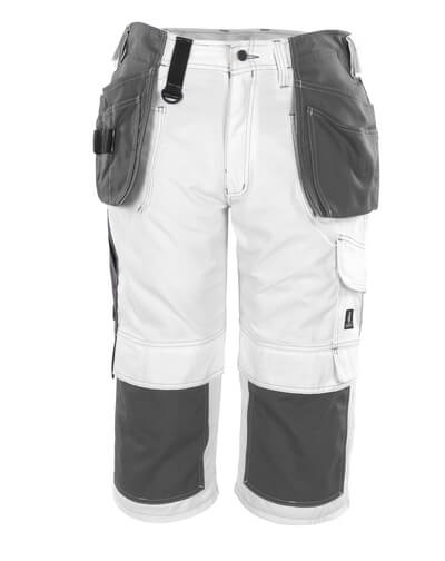 08349-154-06 ¾ Length Pants with kneepad pockets and holster pockets - white