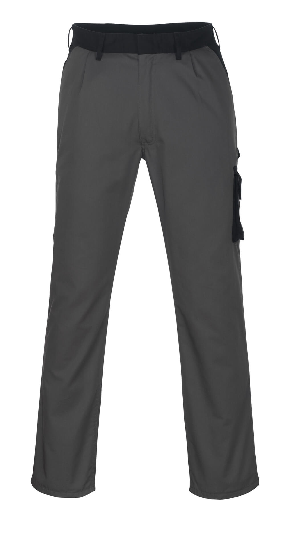 08779-442-8889 Pants with thigh pockets - anthracite/black