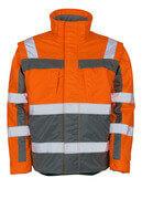 09335-880-14888 Winter Jacket - hi-vis orange/anthracite