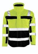 09335-880-171 Winter Jacket - hi-vis yellow/navy