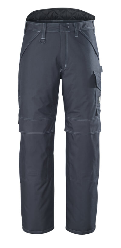 10090-194-09 Winter Pants with kneepad pockets - black