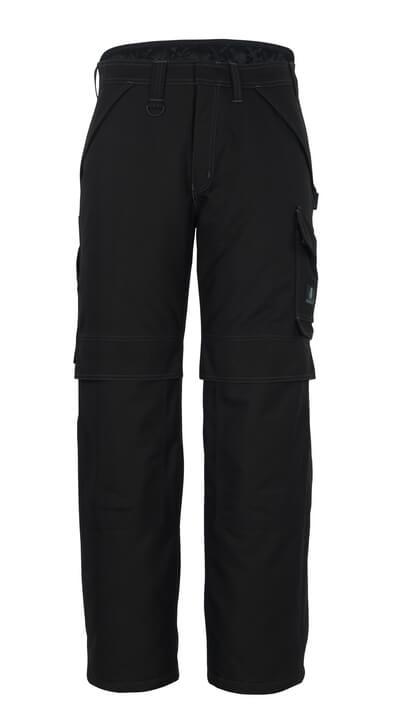10090-194-09 Winter Pants with kneepad pockets - black