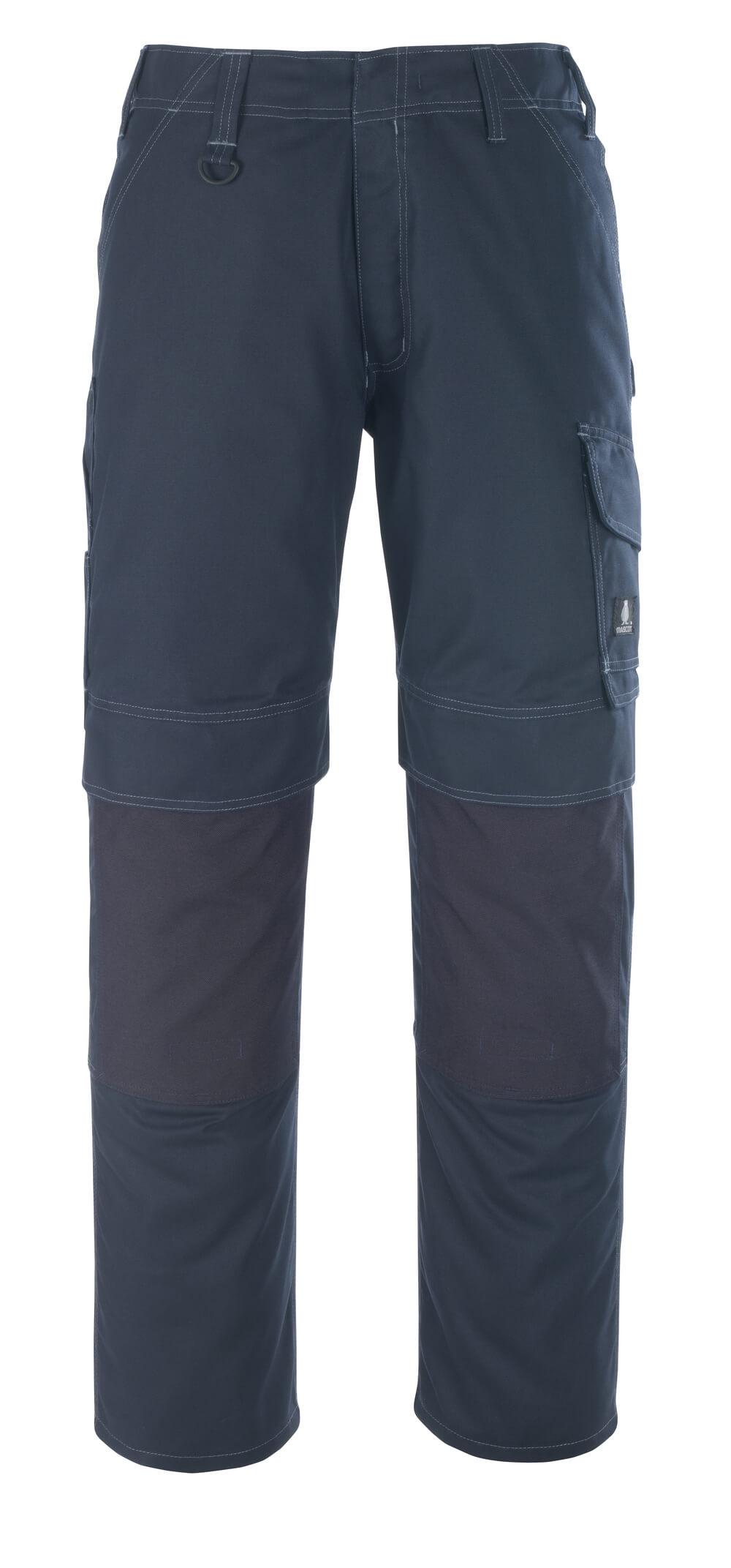 10179-154-010 Pants with kneepad pockets - dark navy