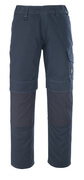 10179-154-010 Pants with kneepad pockets - dark navy