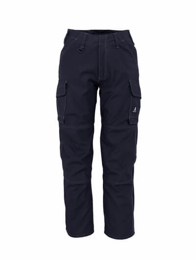 10279-154-010 Trousers with thigh pockets - dark navy