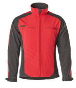 12002-149-0209 Softshell Jacket - red/black