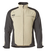 12002-149-5509 Softshell Jacket - light khaki/black