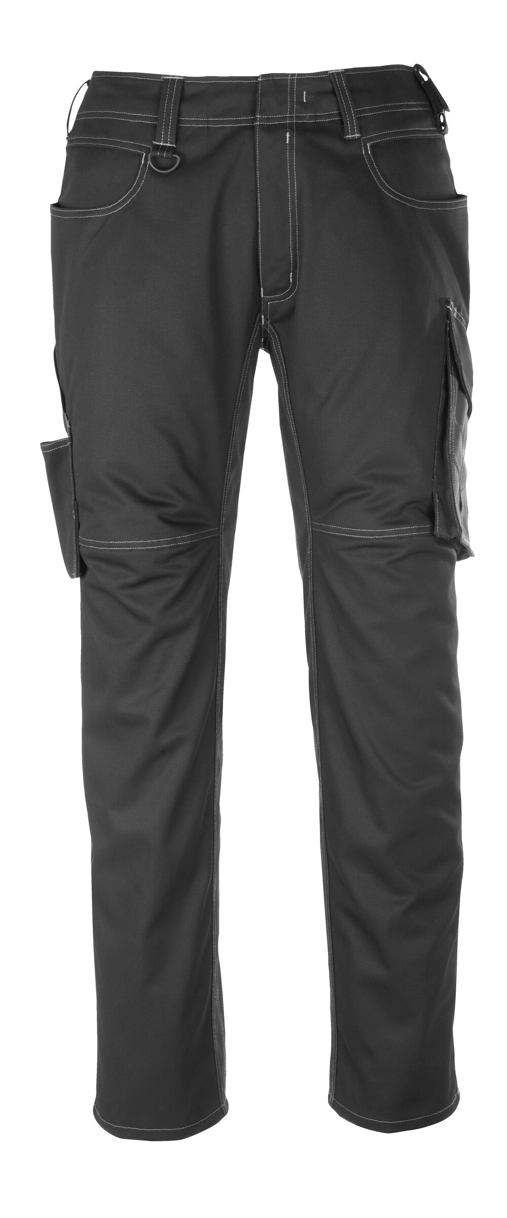 12079-203-0918 Pants with thigh pockets - black/dark anthracite