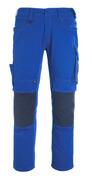 12179-203-0918 Pants with kneepad pockets - black/dark anthracite