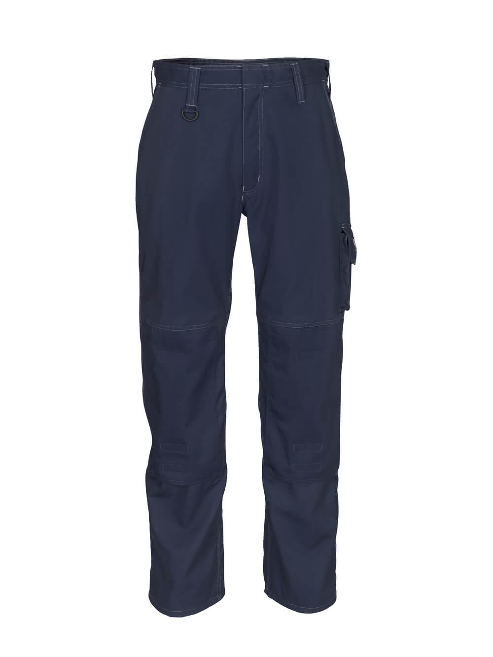 12355-630-010 Pants with kneepad pockets - dark navy