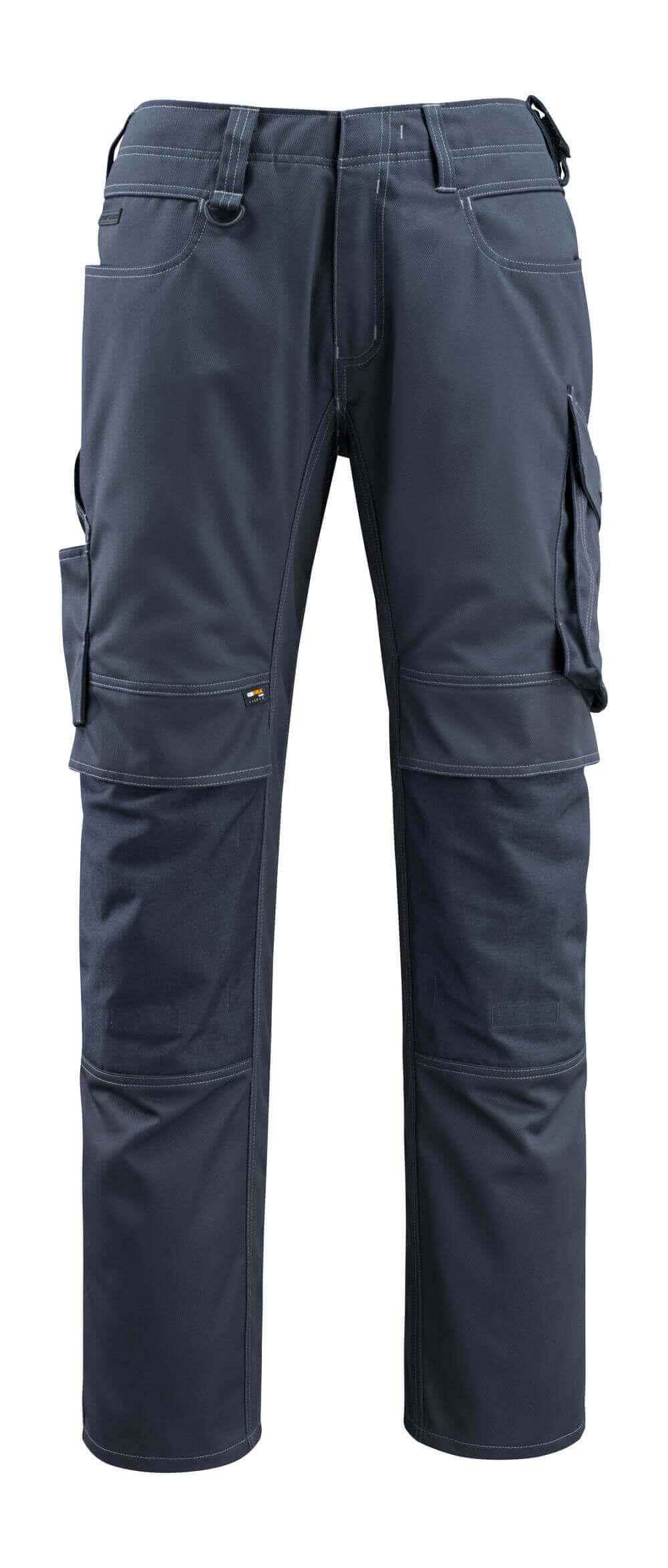 12479-203-010 Pants with kneepad pockets - dark navy
