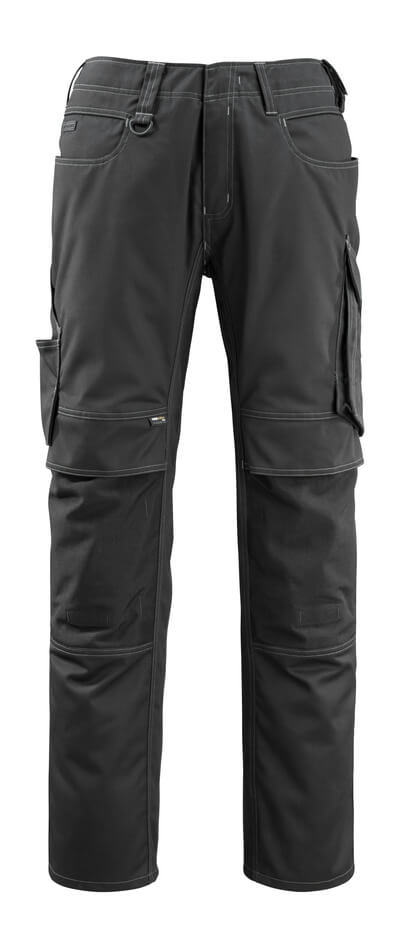 12479-203-010 Pants with kneepad pockets - dark navy