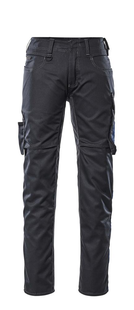 12579-442-01011 Pants with thigh pockets - dark navy/royal