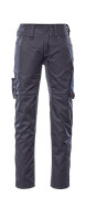 12579-442-01011 Pants with thigh pockets - dark navy/royal