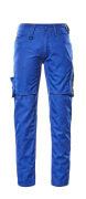 12579-442-11010 Pants with thigh pockets - royal/dark navy
