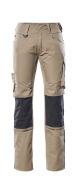 12679-442-0918 Pants with kneepad pockets - black/dark anthracite