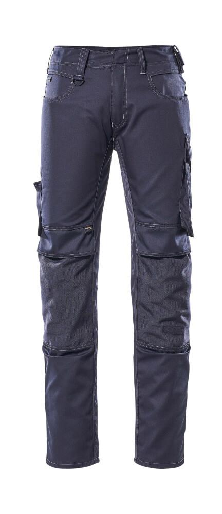 12779-442-010 Pants with kneepad pockets - dark navy