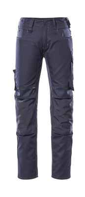 12779-442-010 Pants with kneepad pockets - dark navy